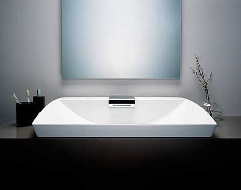Toto Neorest integrated sensor lavatory 5x7