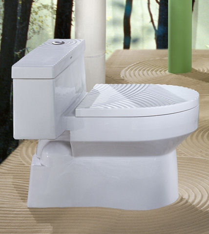 toto ryohan toilet TOTO Ryohan Suite   the ripples on sand