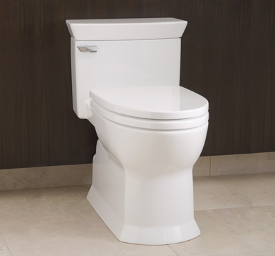 toto soiree toilet The TOTO Soiree Toilet   sculpted geometric design plus extremely low maintenance toilet