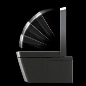 High-Tech Toilets by Toto, Japan – new washlet toilets Neorest SE & Neorest LE