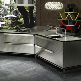Swarovski Crystals Kitchen Design from Japanese Toyo Kitchen – Ino