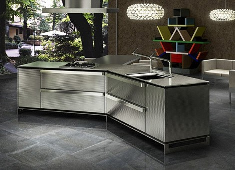 toyokitchen kitchen ino 1 Swarovski Crystals Kitchen Design from Japanese Toyo Kitchen – Ino