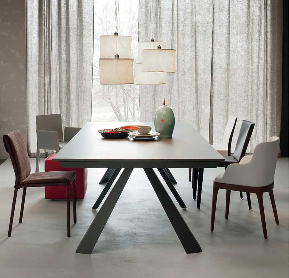 Transforming Console Table Convivium By Cattelan Italia - Stylish-dining-rooms-from-cattelan-italia