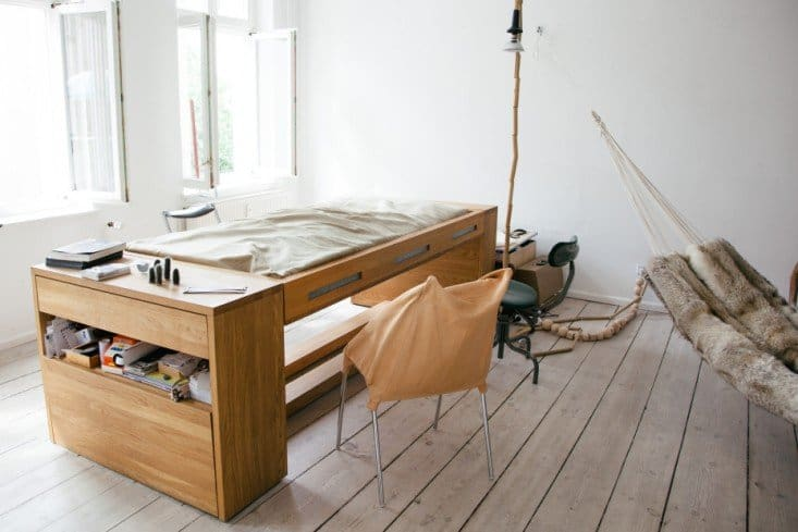the latest 301a9 fa1c3 Transforming Desk Bed for Small Spaces by BLESS