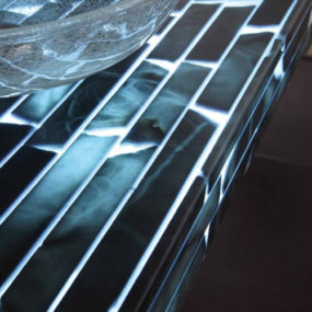 Transparent Countertops in Alabaster by Masto Fiore