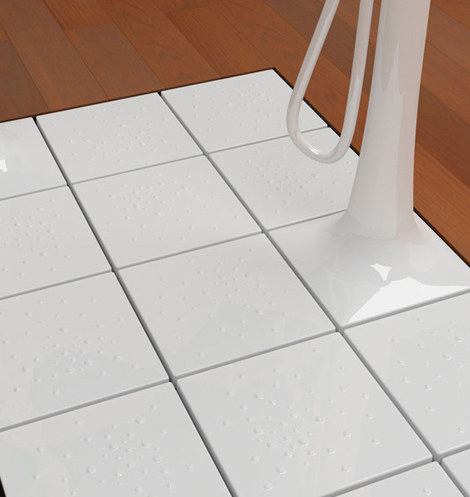 tree shower ceramica flaminia floor