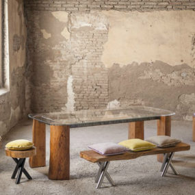 Tree Trunk Furniture by Alexander and Matteo Bagnai