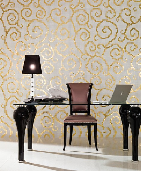 trend tiles wallpaper luxurious