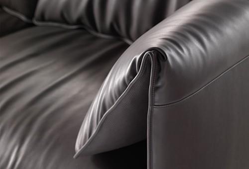 trendy leather sofa poltrona frau john john 2