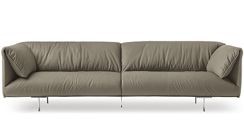 Trendy Leather Sofa By Poltrona Frau