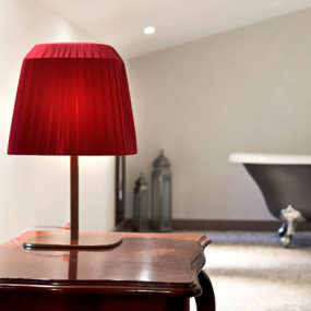 Trendy Square Lamp Shades by Sandro Santantonio
