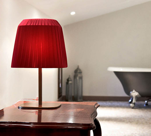 trendy square table lamp shade santantonio 1 Trendy Square Lamp Shades by Sandro Santantonio