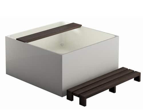 treos free standing mineral bath 2 Mineral Bath Tub by Treos    modern free standing tub