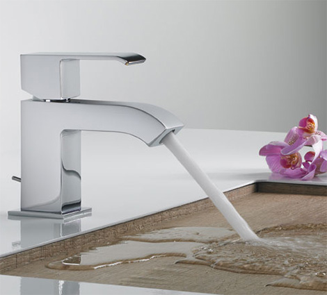 tres griferia faucet cuadro Modern Faucets from Tres   new angular Cub and Cuadro