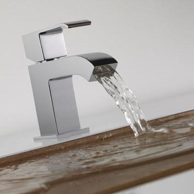 Tres Griferia faucet Cuadro with rectangular aerator
