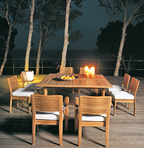 Triconfort Outdoor Furniture The Equinox Solid Wood