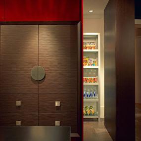 "Kitchen Trends 2009 – ""kitchen within a kitchen"" concept by Troy Adams Design"