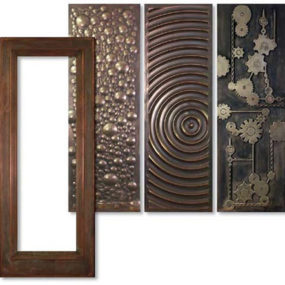 Metal Clad Door from Tru Stile – a bold statement decorative door