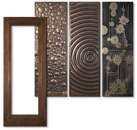 trustile metal clad door Metal Clad Door from Tru Stile   a bold statement decorative door