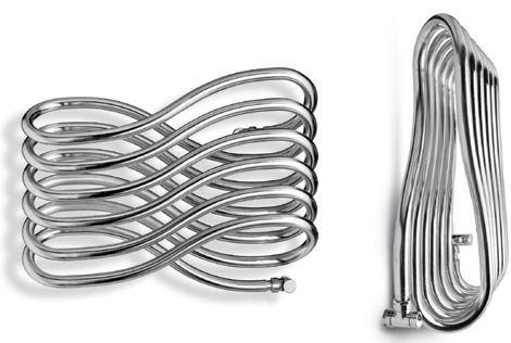tubor arabesque tubular design radiator Towel Warmer Arabesque by Tubor   a tubular decorative warmer