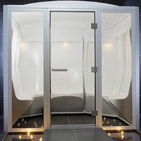 Steam Room from Tylo – Elysee luxury steam room seating 12!
