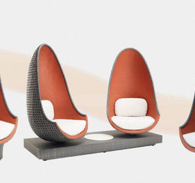 Uber Cool Lounge Chair by Philippe Starck – Play from Dedon
