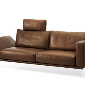Ultra-comfy, contemporary Piu sofa from Intertime