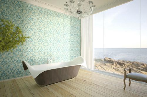 ultra modern bathtubs bagno sasso wave Amazing Bathtubs by Manuel Dreesmann