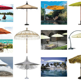 Patio Umbrellas and Outdoor Parasols – best picks for 2008 by designer Lillian Pikus