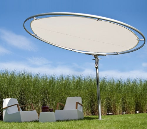 Circular Patio Umbrella By Umbrosa U2013 Unusual Eclipse
