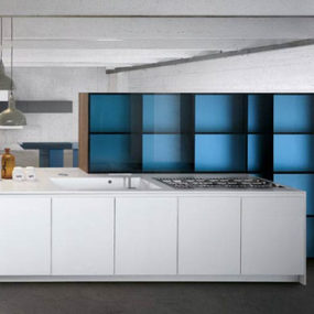 Understated Kitchen by Key – Glas1 design by Alessio Bassan