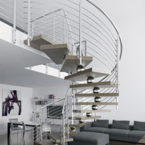 Unique Contemporary Staircases by Faraone