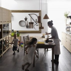 Inlay Wooden Craftsman Kitchen – Valcucine SineTempore