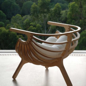 Unique Plywood Chair by Branca