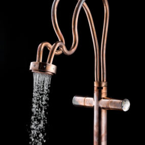 Unique Swarovski Faucets for Shower or Sink by Cotto