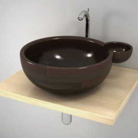 Unique Wash Basin by Unique Wood Design – Maura