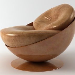 Unusual Armchairs – Esfera Armchair by Etel