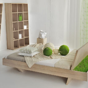 Unusual Bed by Vitamin Design