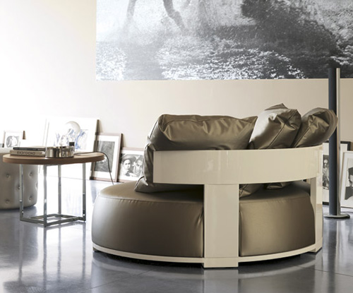 unusual loveseats porada bea 1 Unusual Loveseats by Porada