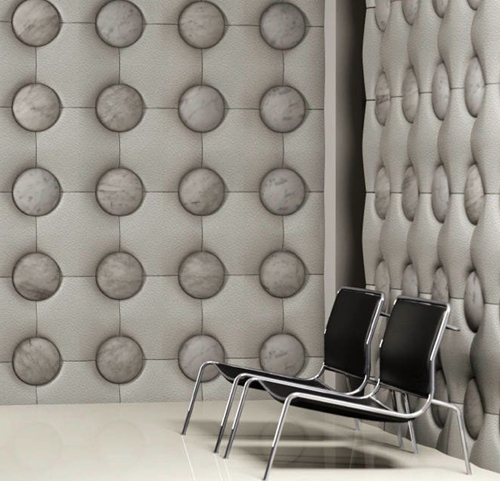 Awesome Unusual Wall Tiles By Pelle Pietra