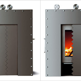 Unusual Wood Stove Design by Skantherm – Zorak