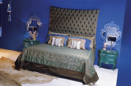 Upholstered Headboards Beds by Creazioni
