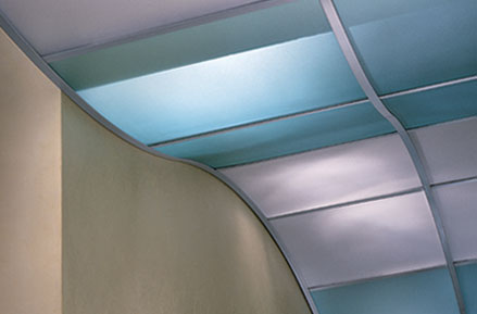 usg ceiling translucent luminous infill panels Luminous ceiling infill panels from USG   the high tech translucent ceiling