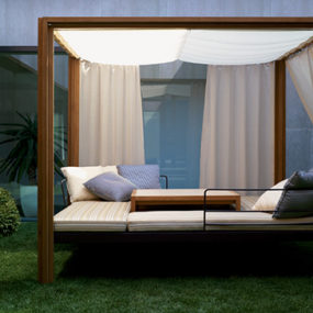Teak Gazebo by Usona Home – Dordoni outdoor furniture