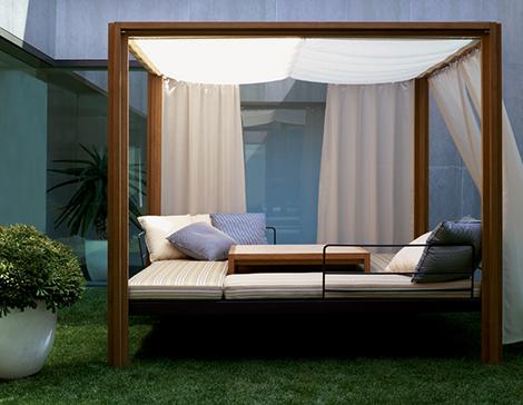 Teak Gazebo by Usona Home – Dordoni outdoor furniture
