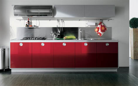 valcucine free play kitchen softline Valcucine Kitchens   new Free Play modern kitchen