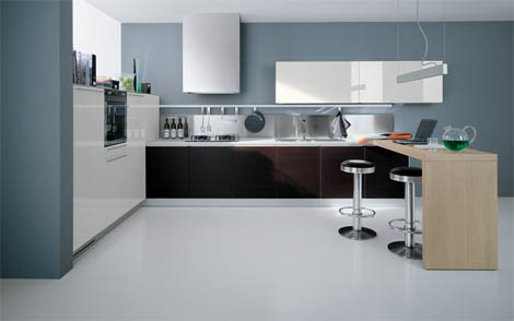 valcucine free play kitchen Valcucine Kitchens   new Free Play modern kitchen