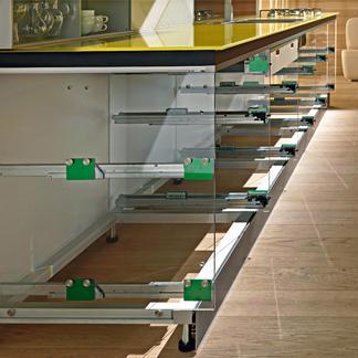 valcucine invitrum cabinetry Eco Kitchen   100% Recyclable Kitchen by Valcucine, gReenaissance utilizing Invitrum
