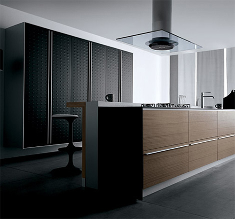Valcucine Artematica Juglans kitchen in walnut