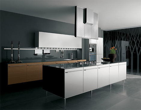 valcucineartematicakembal New Kitchens by Valcucine   Artematica Kembal and Artematica Juglans modern kitchens